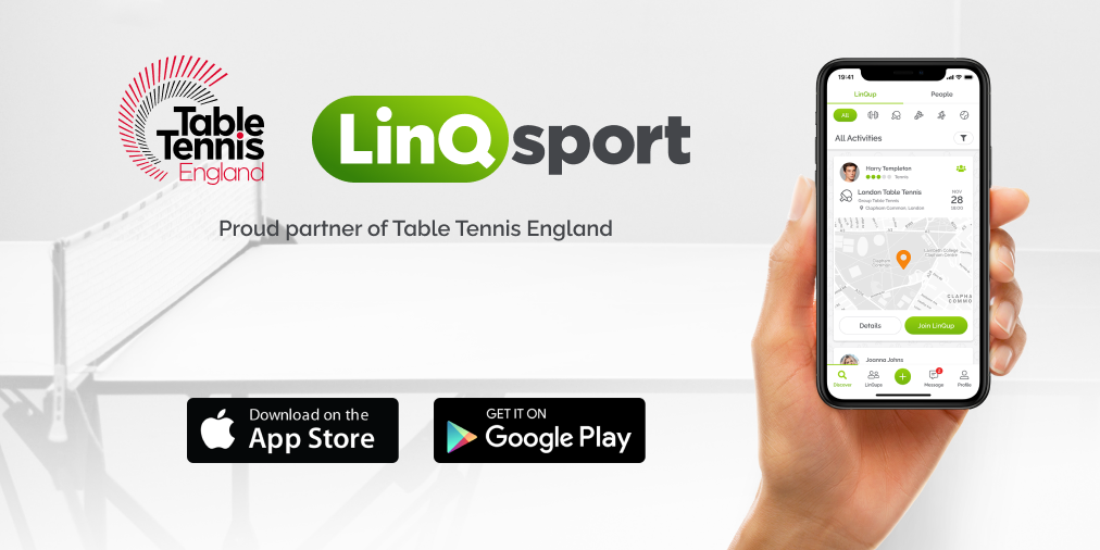 LinQing Up With Table Tennis England